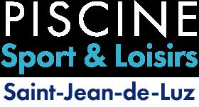 Logo Piscine Saint Jean de Luz Blanc