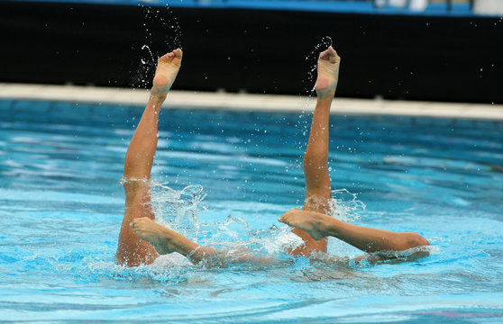 Image d'illustration pour la natation synchronisée